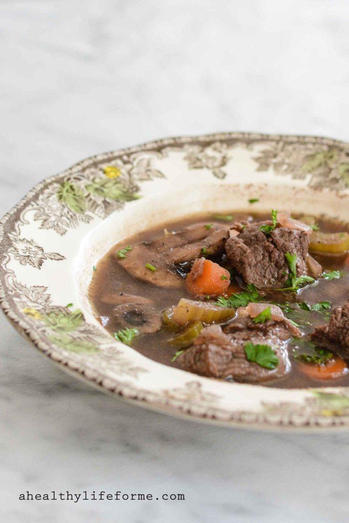 Irish Beef Stew Healthy Clean Recipe | ahealthylifeforme.com