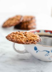 Oatmeal Crisp Cookie Gluten Free Recipe | ahealthylifeforme.com