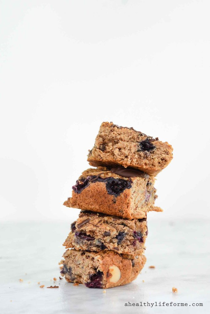 Blueberry Almond Chocolate Bars-3