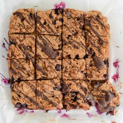 Blueberry Almond Chocolate Bars