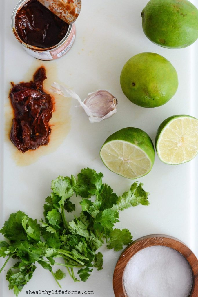 Chipotle Lime Marinated Grilled Pork Chops are simple, juicy, perfect pork chops with a bit of fresh flavored zing | ahealthylifeforme.com