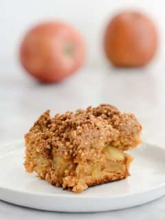 Gluten Free Apple Blondies