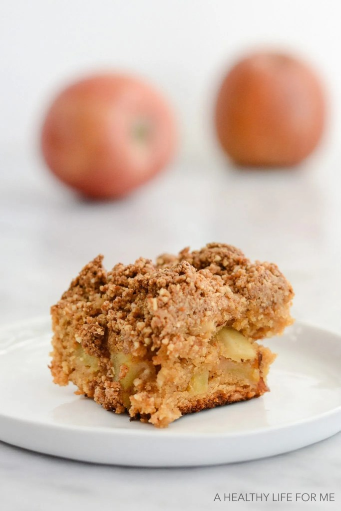 Gluten Free Apple Blondies from ahealthylifeforme.com. I was researching gluten free blondies and these look ah-mazing! I can't wait to make these for dessert. Collected on FoodKollective.com