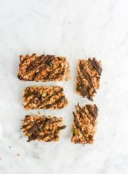 Homemade Granola Bars that are delicious, healthy, gluten free, dairy free, vegetarian and easy to make