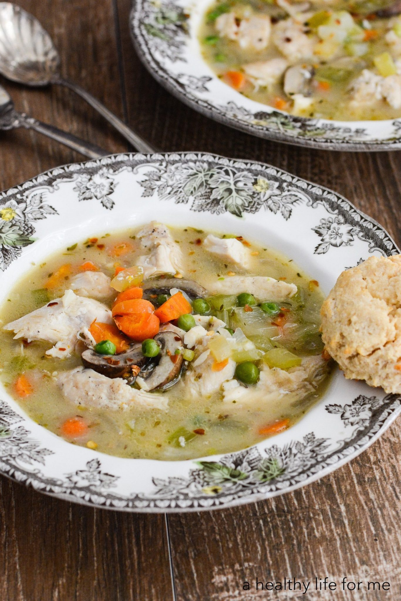 Paleo chicken and dumplings a healthy life for me paleo chicken and dumplings is a hearty one pot dinner that will satisfy the whole family forumfinder Gallery