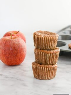 Apple Pie Protein Muffins