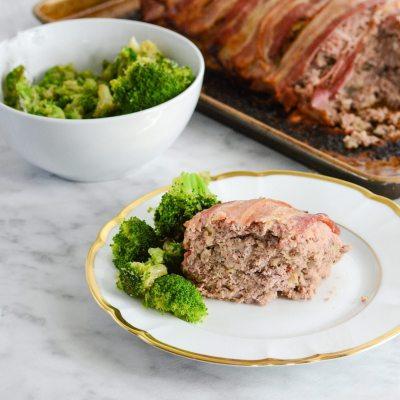Easy Bison Bacon Meatloaf