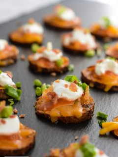 Loaded Sweet Potato Bites