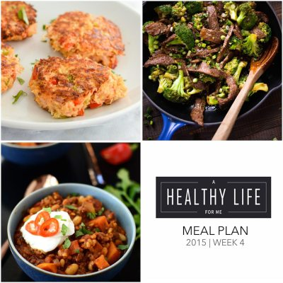 Weekly Meal Plan Week 4