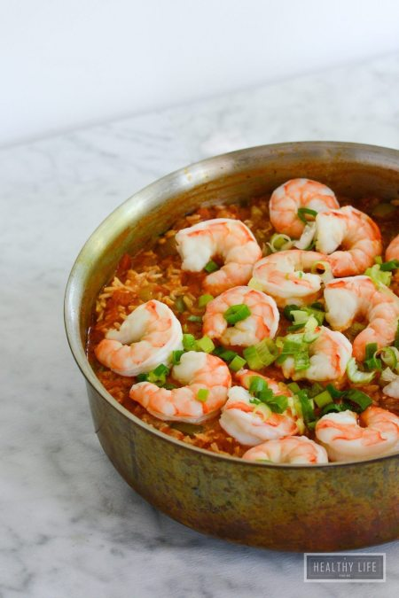 Shrimp Jambalaya Recipe | ahealthylifeforme.com