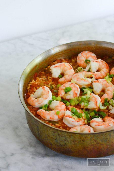 Shrimp Jambalaya Recipe | ahealthylifeforme.com