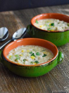 Crab Chowder {gluten free + dairy free}