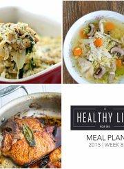 Meal Plan Week 8 | ahealthylifeforme.com