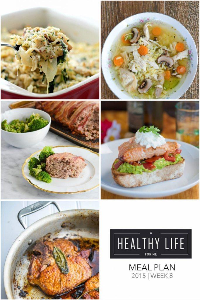 Weekly Meal Plan | ahealthylifeforme.com