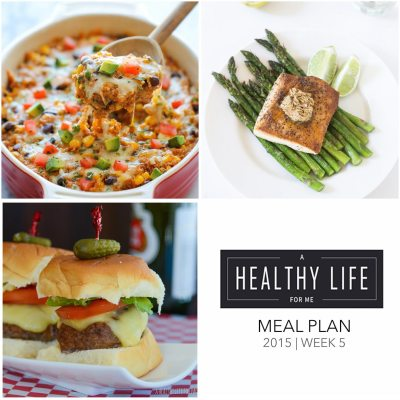 Weekly Meal Plan Week 5