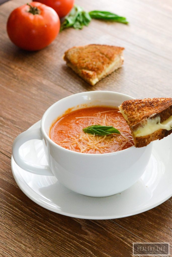 Tomato Bisque Soup is creamy delicious and gluten free recipe | ahealthylifeforme.com