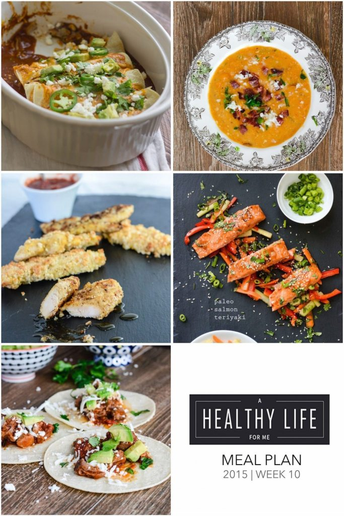 Meal Plan Week 10 | ahealthylifeforme.com