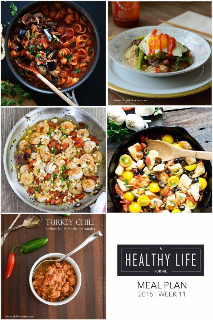 Weekly Meal Plan Week 11   ahealthylifeforme.com