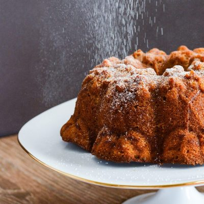 Pumpkin and Ginger Pound Cake {gluten free}