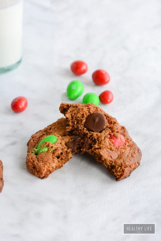 Double Almond Chocolate Chip Cookies are crisp and crunchy with almond and choclate combination gluten free   ahealthylifeforme.com