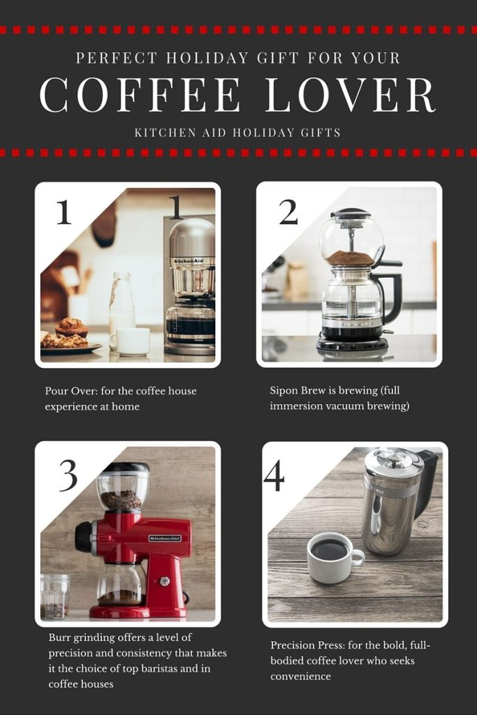 Perfect Holiday Gift for your Coffee Lover Kitchen Aid | ahealthylifeforme.com