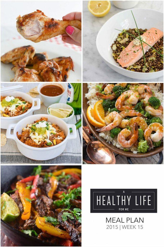 Weekly Meal Plan   ahealthylifeforme.com