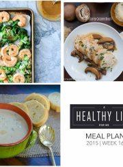Meal Plan Week 16 | ahealthylifeforme.com