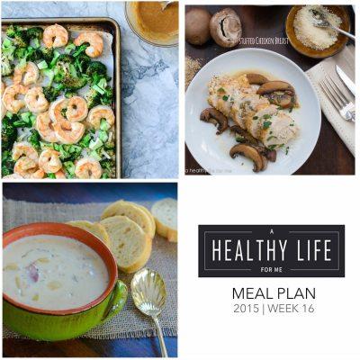 Meal Plan Week 16