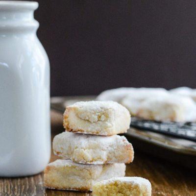 Ricciarelli Cookie {gluten free}