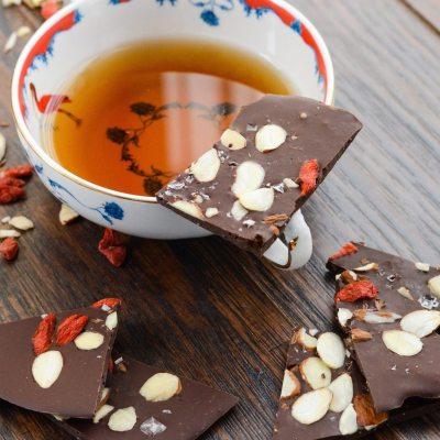 Superfood Chocolate Coffee Bark