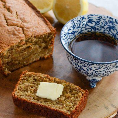 Lemon Coriander Cake {gluten free + paleo}