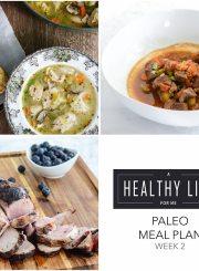 Paleo Meal Plan Week 2 | ahealthylifeforme.com