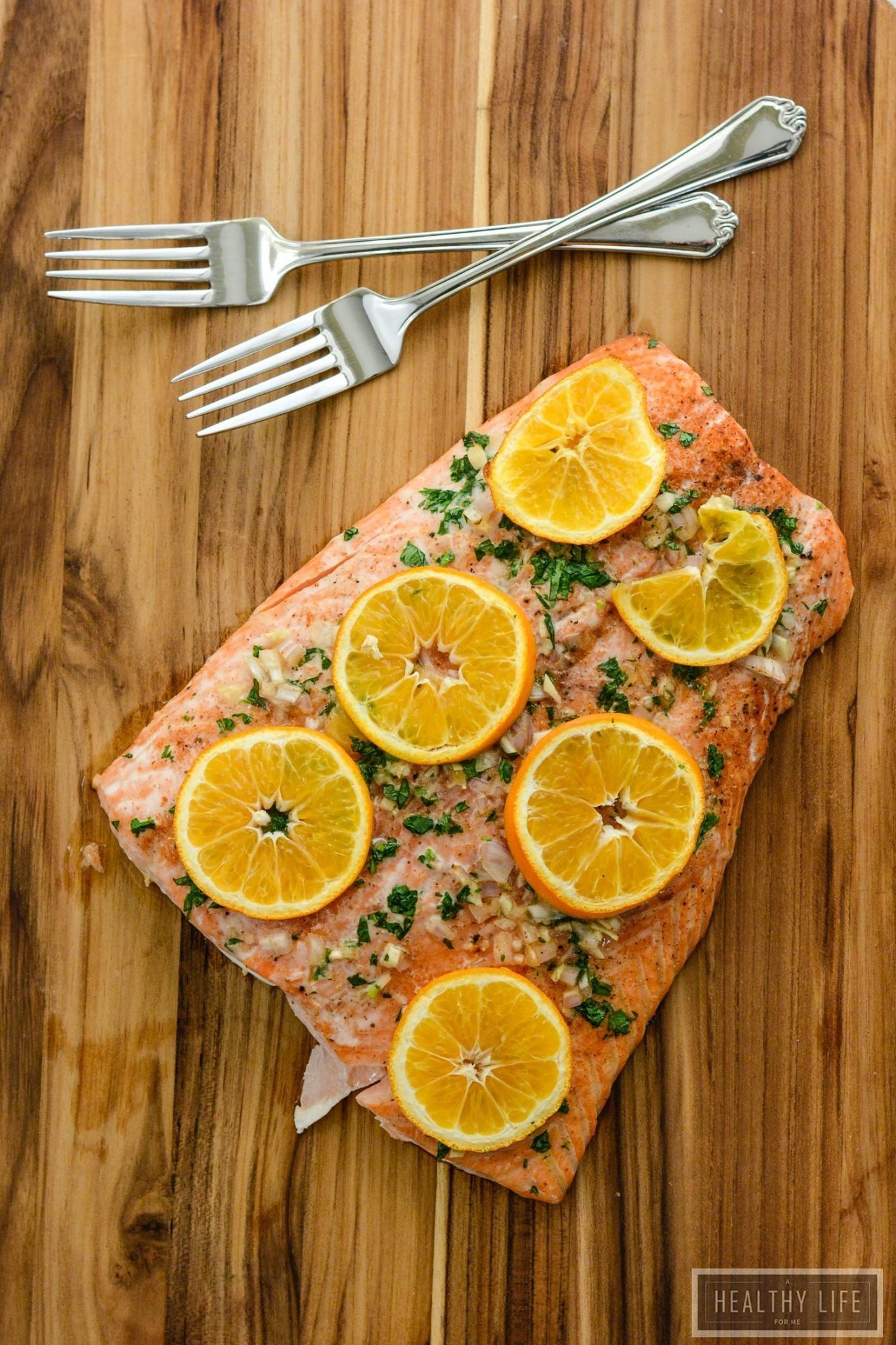Roasted salmon with clementine a healthy life for me roasted salmon and clementine gluten free paleo high protein dinner recipe ahealthylifeforme forumfinder Images