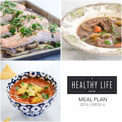 Weekly Meal Plan Week 6