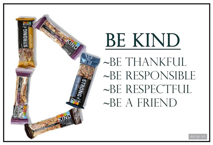 How to Be Kind and Live Kind with Kind Bars | ahealthylifeforme.com