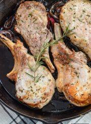 Balsamic Roasted Pork Chops gluten free whole30 paleo easy healthy diet recipe   ahealhtylifeforme.com