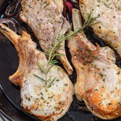 Balsamic Roasted Pork Chops {gluten free + paleo}