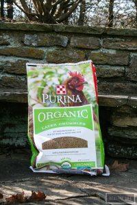 certified USDA Organic chicken feeds