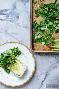 Roasted Bok Choy Healthy Side Dish Reciope   ahealthylifeforme.com