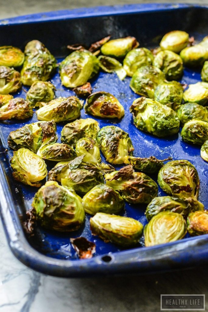 Roasted Brussels Sprouts Slaw | ahealthylifeforme.com