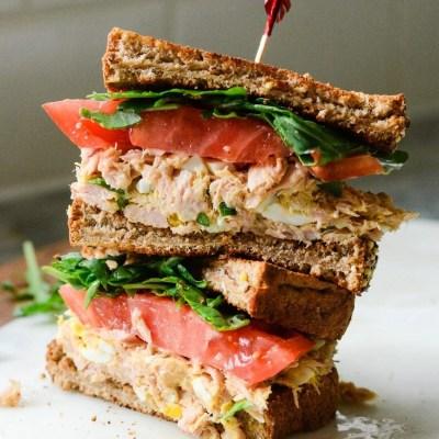 Yellowfin Tuna Salad Sandwich