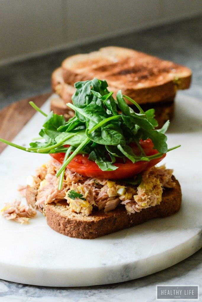 Yellowfin tuna salad sandwich a healthy life for me for Best tuna fish salad