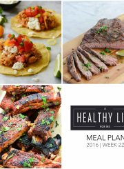 Weekly Meal Plan Week 22 | ahealthylifeforme.com