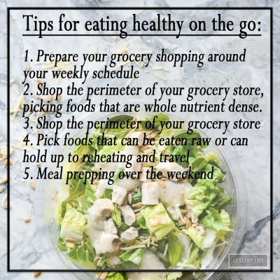 Tips for Eating on the Go