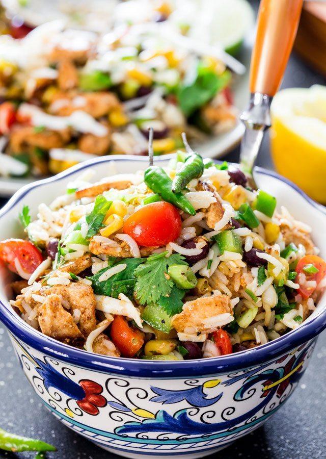 Mexican Chicken and Rice Recipe | jocooks.com