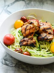Gluten Free Paleo Maple Mustard Grilled Chicken Recipe is High protein Low Calorie   ahealthylifeforme.com