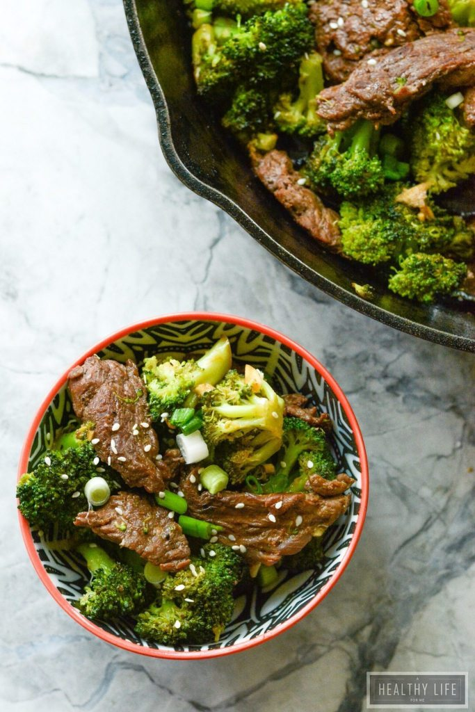 Paleo Beef and Broccoli Recipe High Protein Gluten Free Dairy Free Dinner   ahealthylifeforme.com