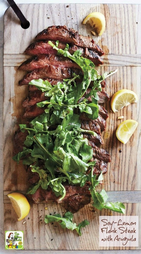 Soy-Lemon-Flank-Steak-with-Arugula-1