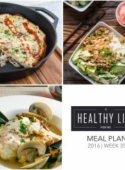 Weekly Meal Plan Week 35 | ahealthylifeforme.com