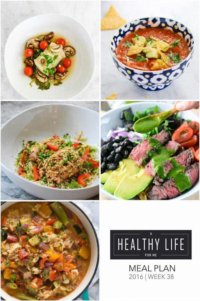 Healthy recipes for your Meal Plan for the upcoming week
